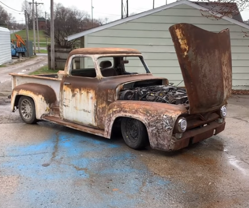 $1,000 Build: This Budget Built F100 Just Keeps Getting Cooler And Cooler, Watch How It Comes Together