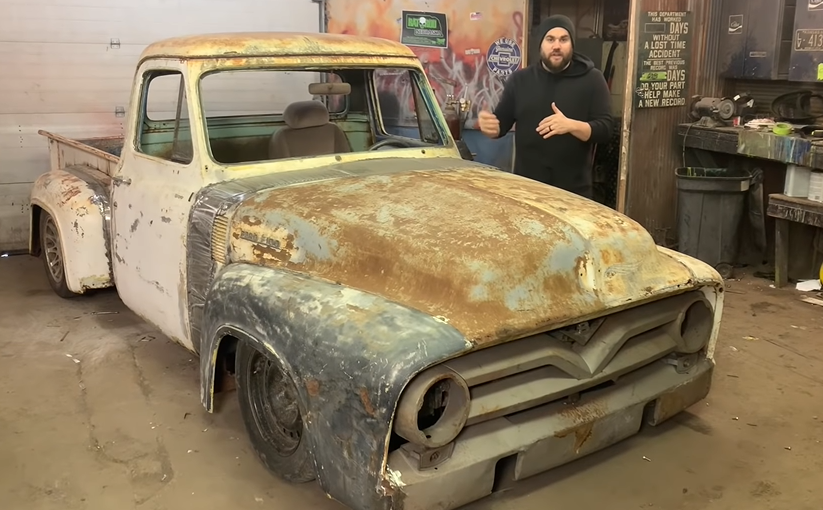 $1,000 Build: Building A Rat Rod Style F100 For Just $1,000 Is Not Only Happening Right Here, But Is Turning Out Awesome!