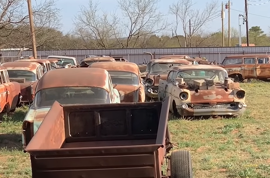 This Is What Happens When You Go Looking For Parts In A Place With Whole Cars – Finnegan's Garage