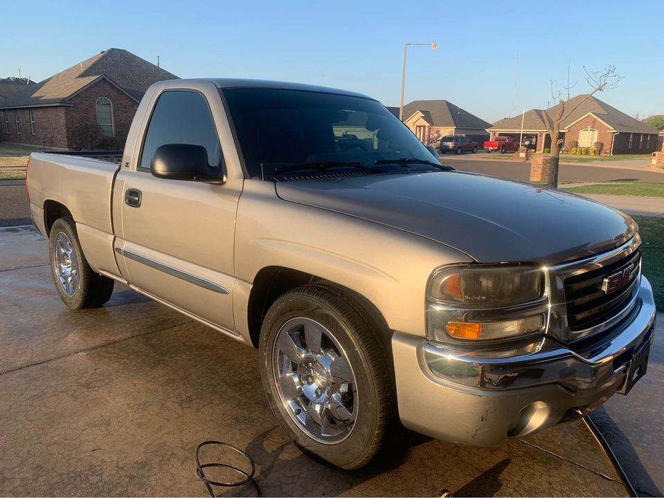 Ridetech Recipe: This 2003 GMC Sierra Is Sleeper Gold With A Twin Turbo 6.0 Under The Hood