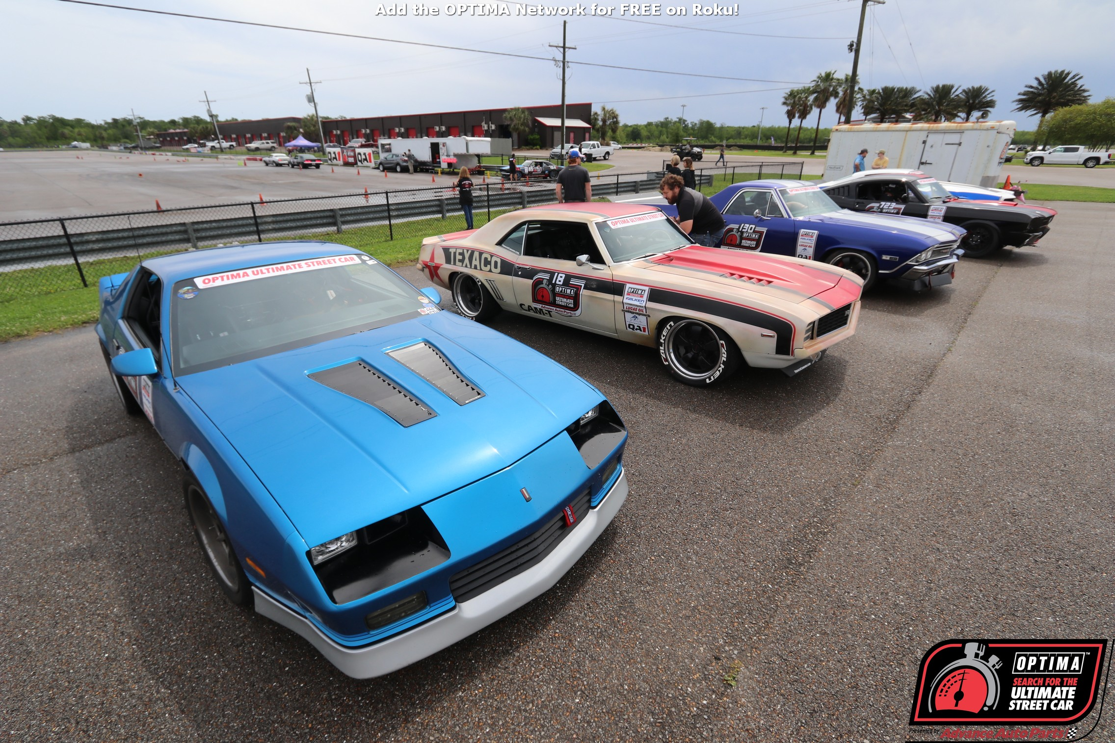 The Road To SEMA Goes Through NOLA Motorsports Park: Optima's Search For The Ultimate Street Car SEMA Quest