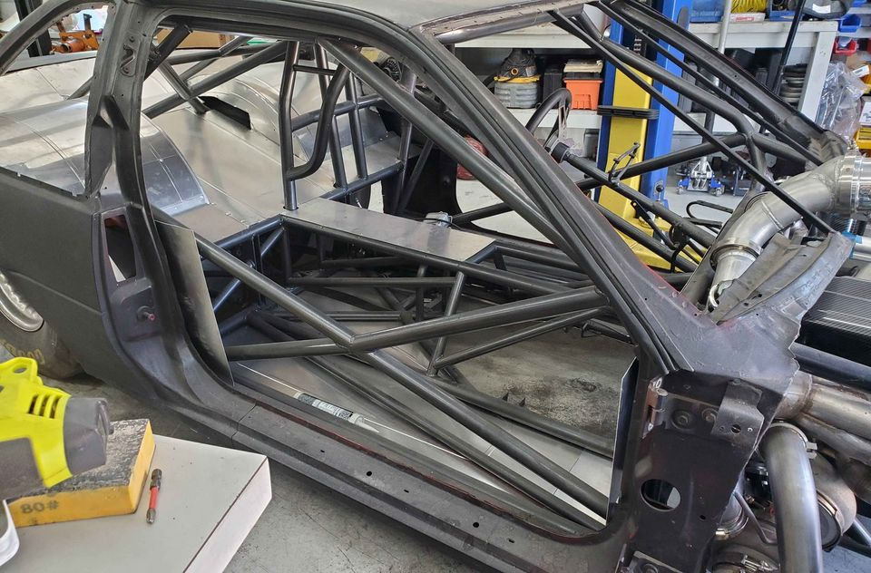 Build To Suit: This Big Tire, Double Frame Rail, 1994 Chevrolet Beretta Is Ready For Your Combo.