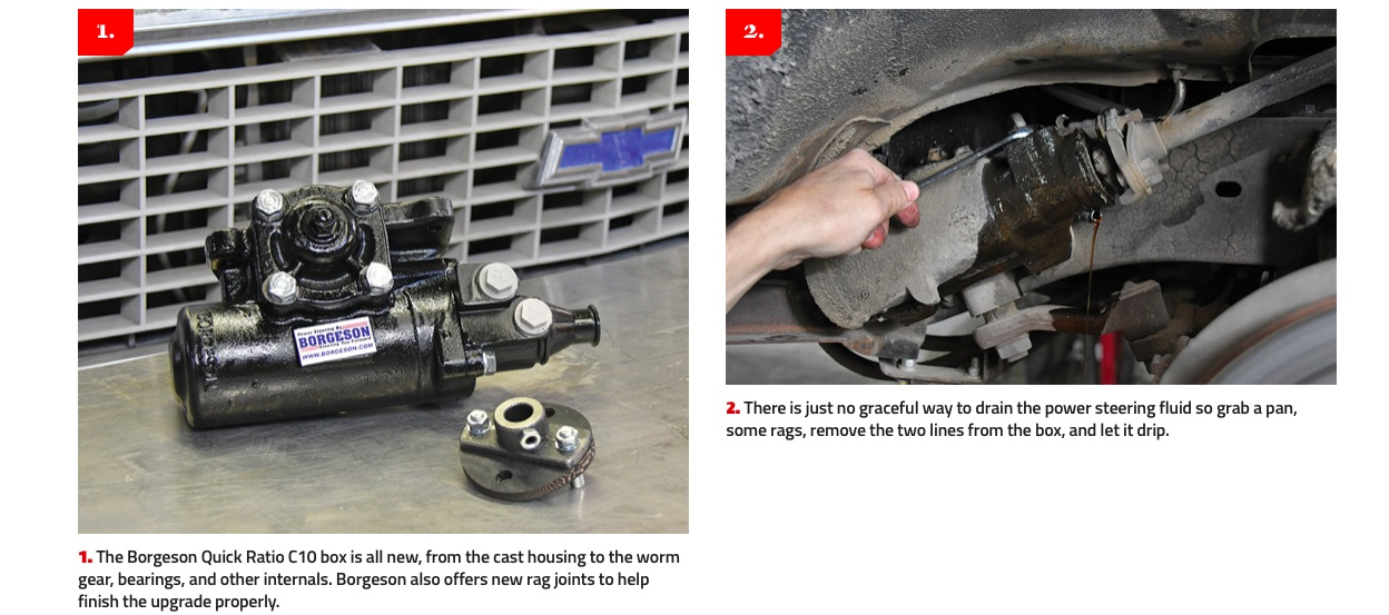 Quick Turn With No Burn: Here's How Easily The Borgeson Quick Ratio C10 Steering Box Installs In A 1967-1987 GM Truck