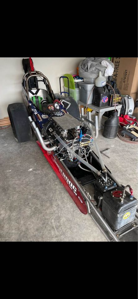 This Front Engine Dragster Is Ready To Run And Cheap! You Can't Afford Not To Buy It At This Price!
