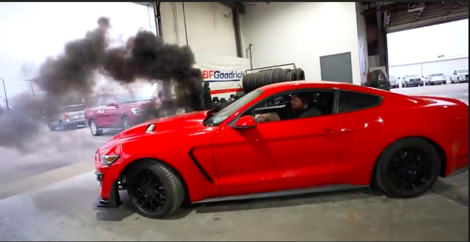 Video: Man Swaps Cummins Diesel Into Late Model Mustang And Takes It To The Dealer For An Alignment – Awesome
