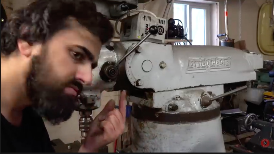 Mill Right: This Video Showing The Rescue And Restoration Of A Bridgeport Milling Machine Is Awesome