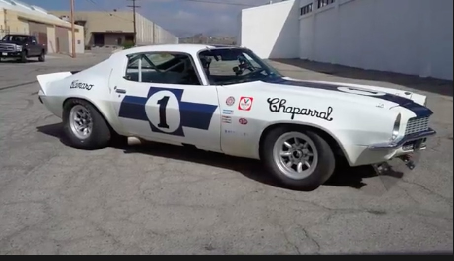 Uproarious: This Video Featuring Jim Hall's 1970 Camaro Trans-Am Racer Is Awesome – The Noise Is Epic