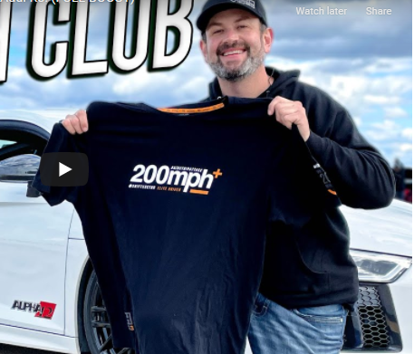 Kyle Loftis Goes Big And Runs Over 200 mph In His New Favorite Street Car!