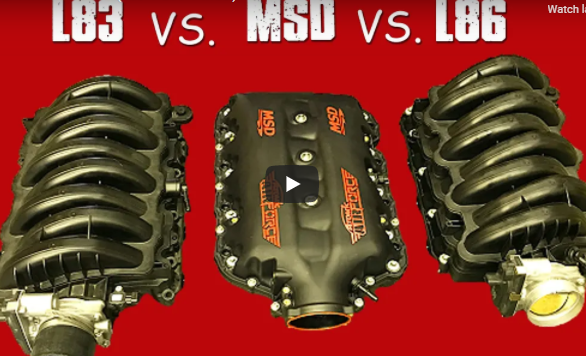 Gen 5 LT Intake Test: L83, L86 And MSD Intake Manifold Tests On Cammed 5.3, 6.2, And More!