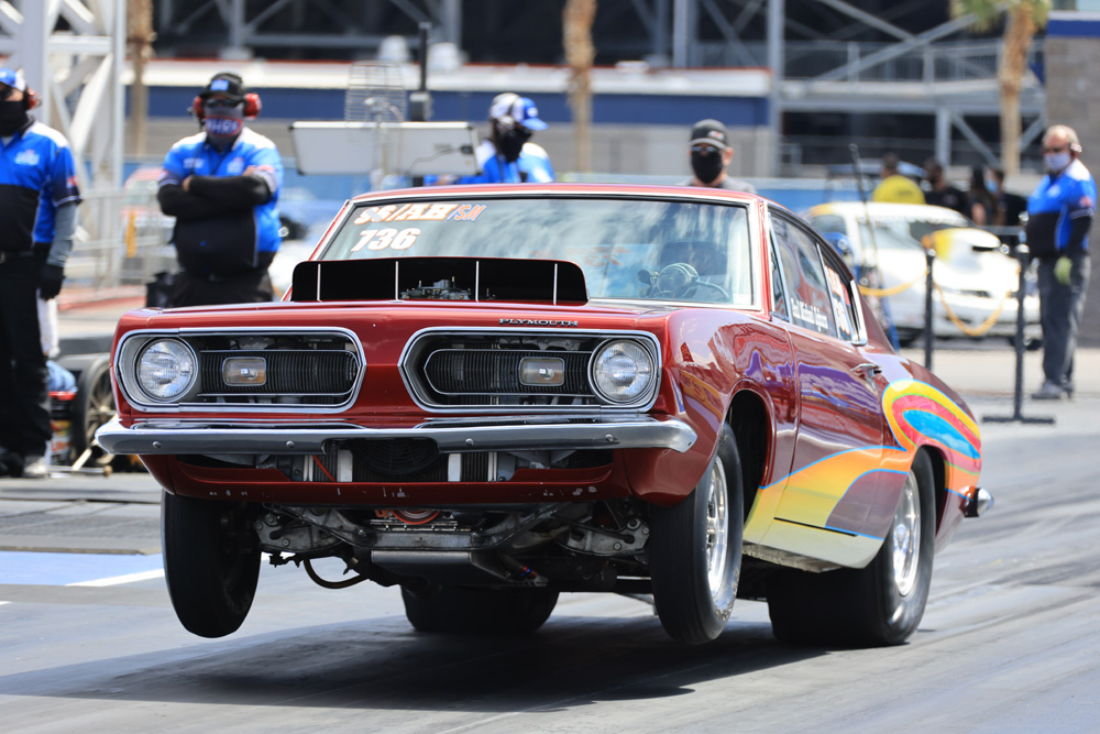 NHRA Denso Spark Plugs 4-Wide Nationals Sportsman Action Photos! More Wheels-Up Fun In Las Vegas!