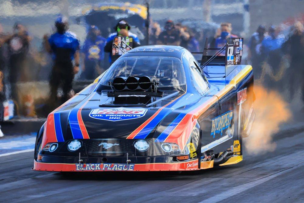 Header Flaming Funny Car Fun: Awesome Action Images From The NHRA 4-Wide Nationals In Las Vegas!
