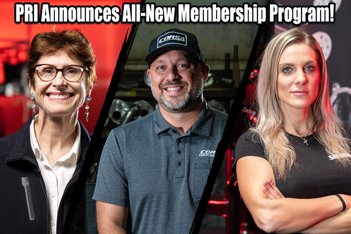 PRI Announces All New Membership Program: Businesses And Race Teams To The Front! Individual Memberships Soon!!