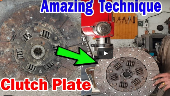 Watching The Pakistani Truck Guys Rebuild A Clutch Disc With Simple Tools Is A Reminder Of How Things Used To Be!