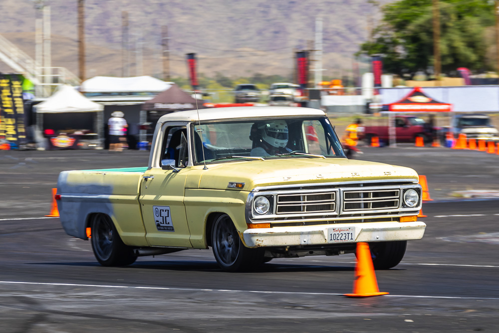 2021 Pro Touring Truck Shootout Action Photos: Ford, Dodge, and GM Trucks Rip The Autocross In Arizona