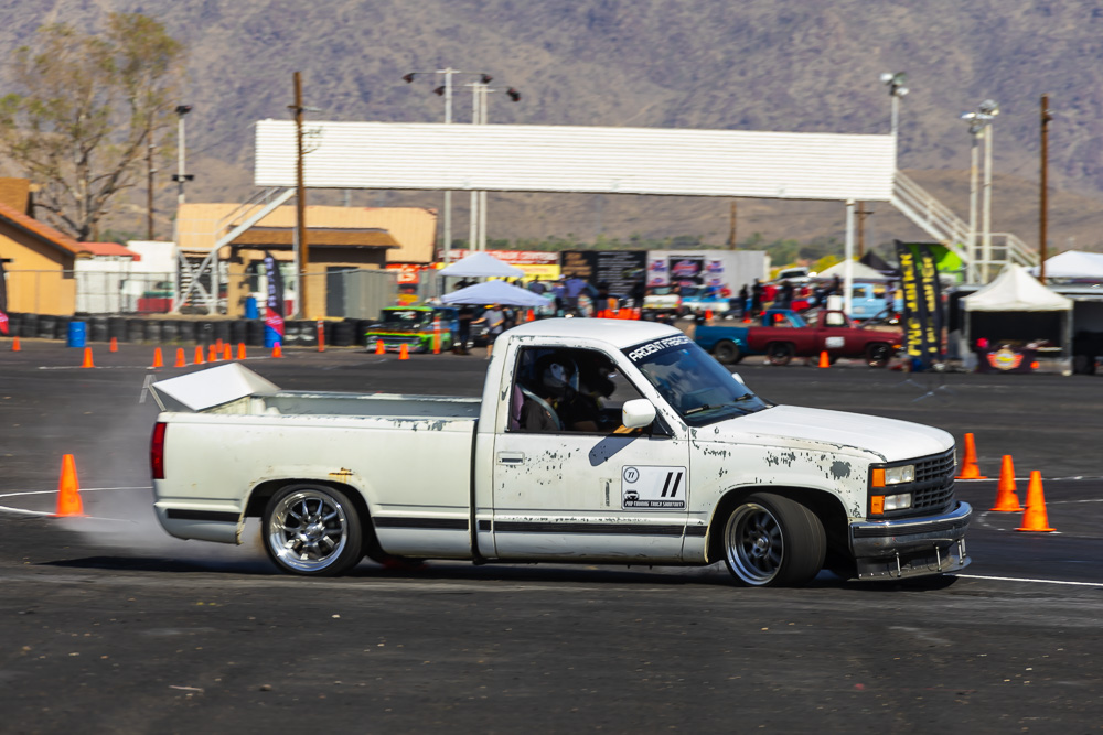 2021 Pro Touring Truck Shootout Action Photos: Getting Sideways In The Desert With Awesome Trucks