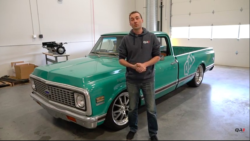 Hustling Shop Truck: Take A Tour Of The QA1 1972 C10 That Was Used To Develop Their Awesome Suspension On