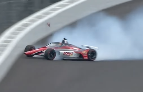 Rinus Veekay, The Indycar 2020 Rookie Of The Year, Crashes Hard At Indy During Testing