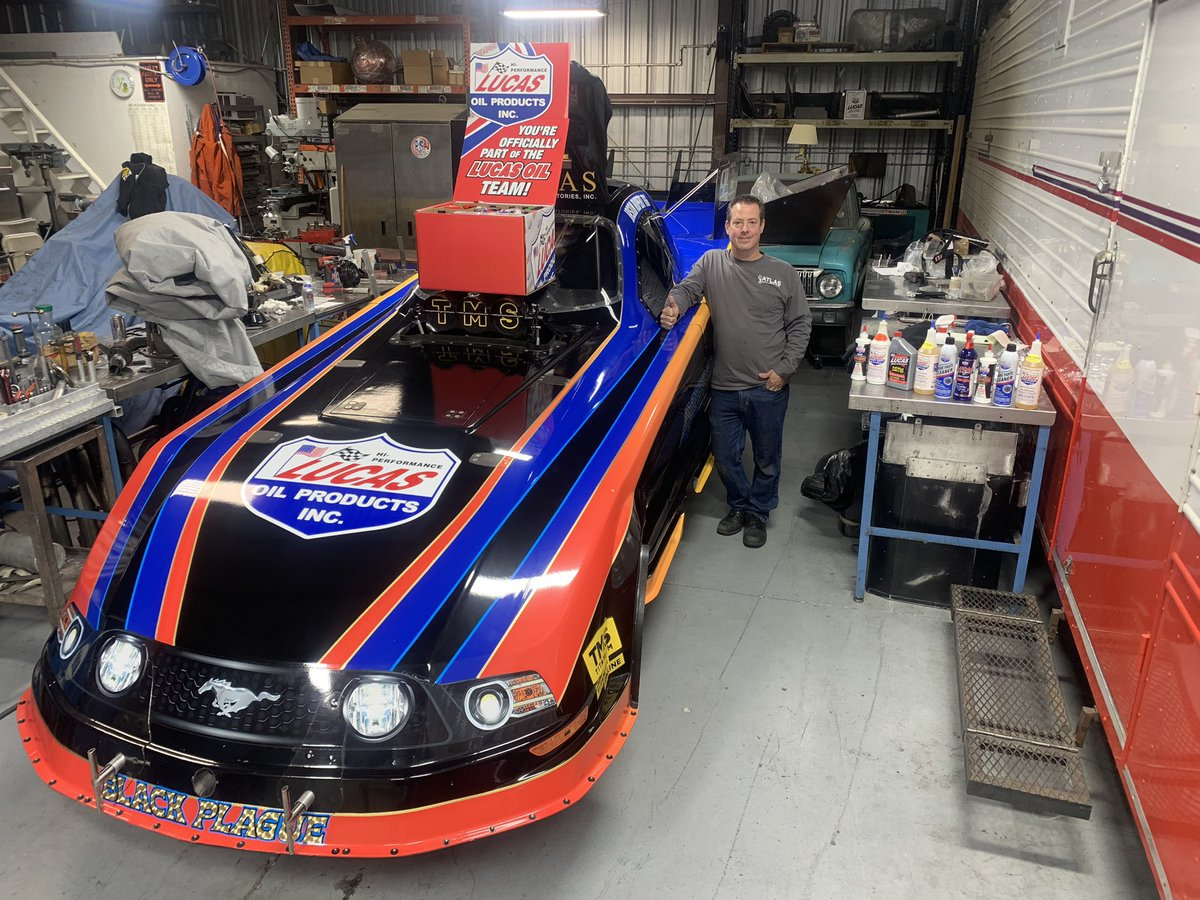 NHRA Is Reporting That Our Boy Jason Rupert's Funny Car Team Will Debut In Las Vegas This Weekend!