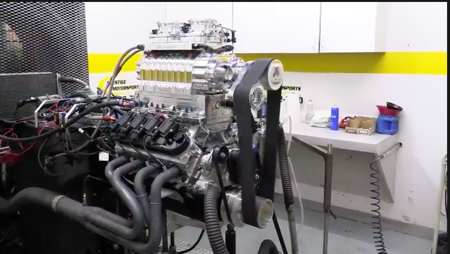 Boost Makes Better: This Build and Dyno Test Of An 8-71 Blown 427ci LS3 Is Awesome – Airboat Engine!