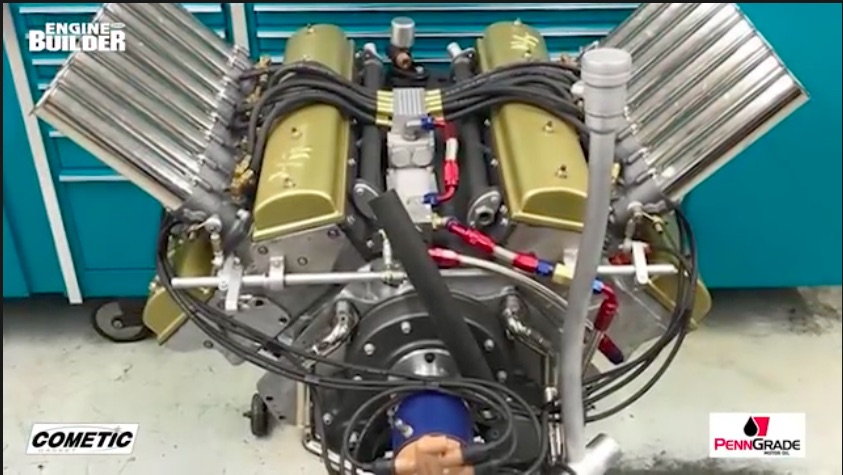 Awesome Engine Video: The Restoration Of This Three-Valve Mickey Thompson Small Block Chevy Is Amazing