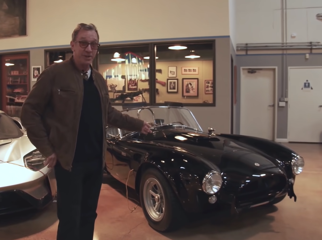 Check Out Tim Allen's Entire Car Collection Right Here. Wow This Dude Has Some Cool Stuff.