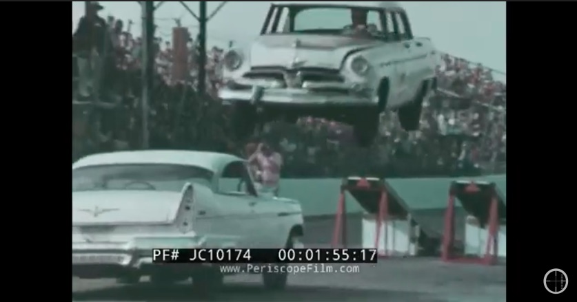 Wonderfully Cheesy: Tournament Of Thrills Is A 50 Year Old Video Featuring Awesome Traveling Stunt Drivers