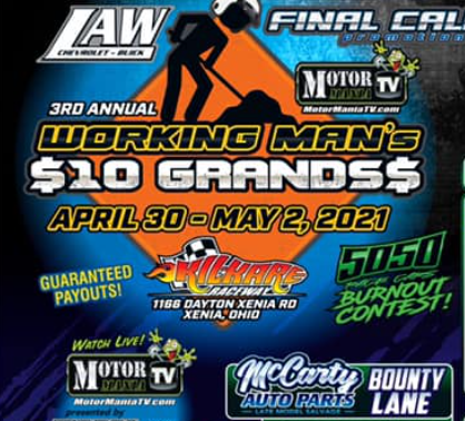 FREE LIVE Drag Racing: Working Man's 10 Grands Bracket Racing Is Live Right Here