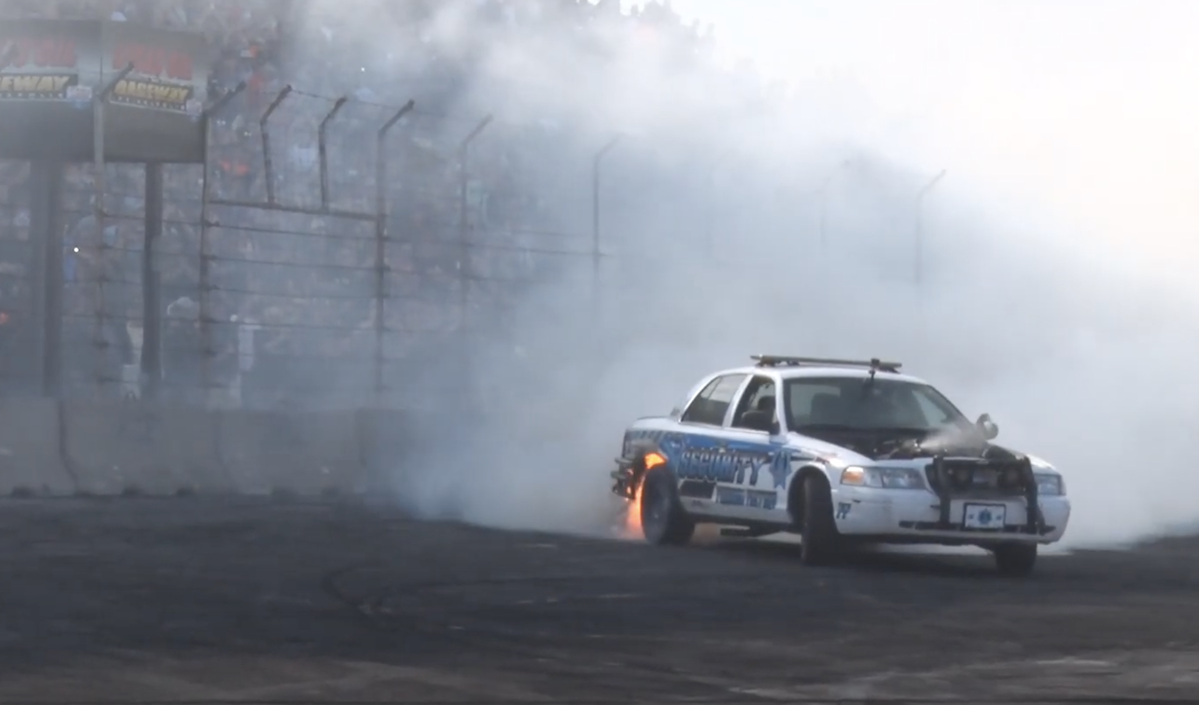 Morning Symphony: The Wildest Of The Tire-Frying Burnouts From Cleetus And Cars Indy!
