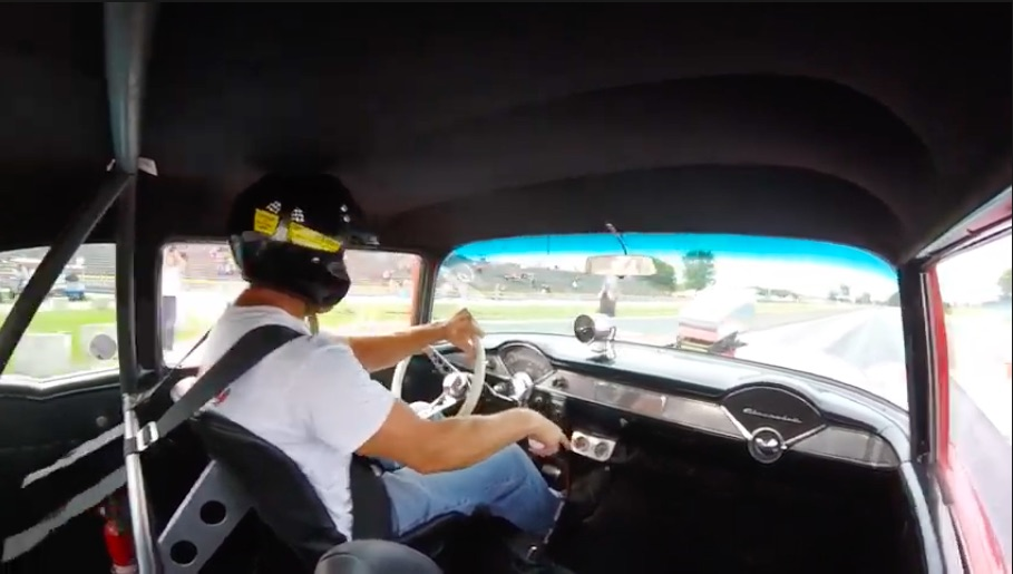 The American Powertrain Parting Shift: Make A Roaring 10-Second Run In A 4-Speed 1955 Chevrolet!