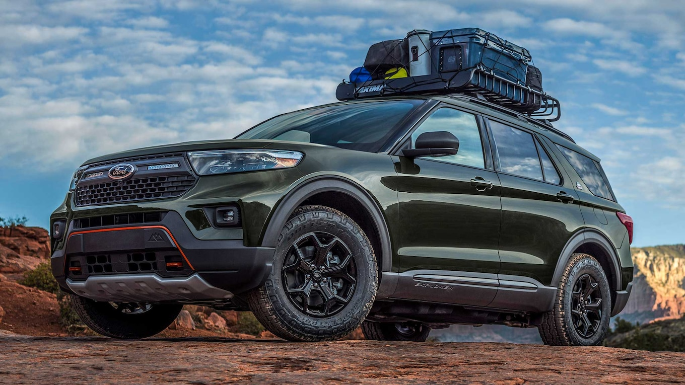 An Explorer That Can Explore – Meet The New Ford Explorer Timberline, A More Off-Road Capable Version Of The Venerable SUV