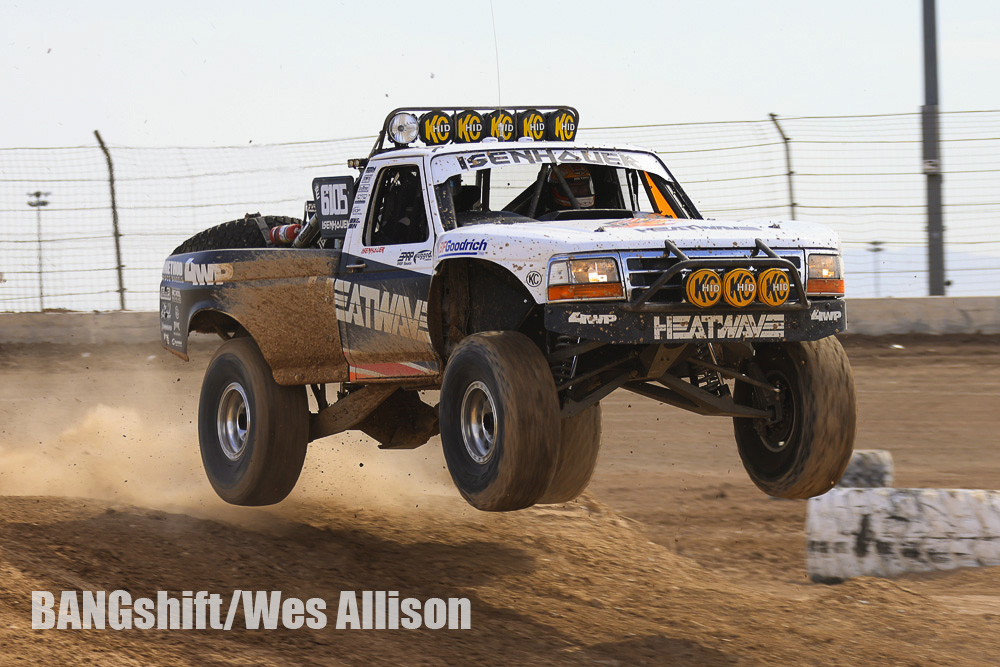 More Photos Of Off-Road Truck Jumping At Holley's LSFest West. High Flying Trucks!