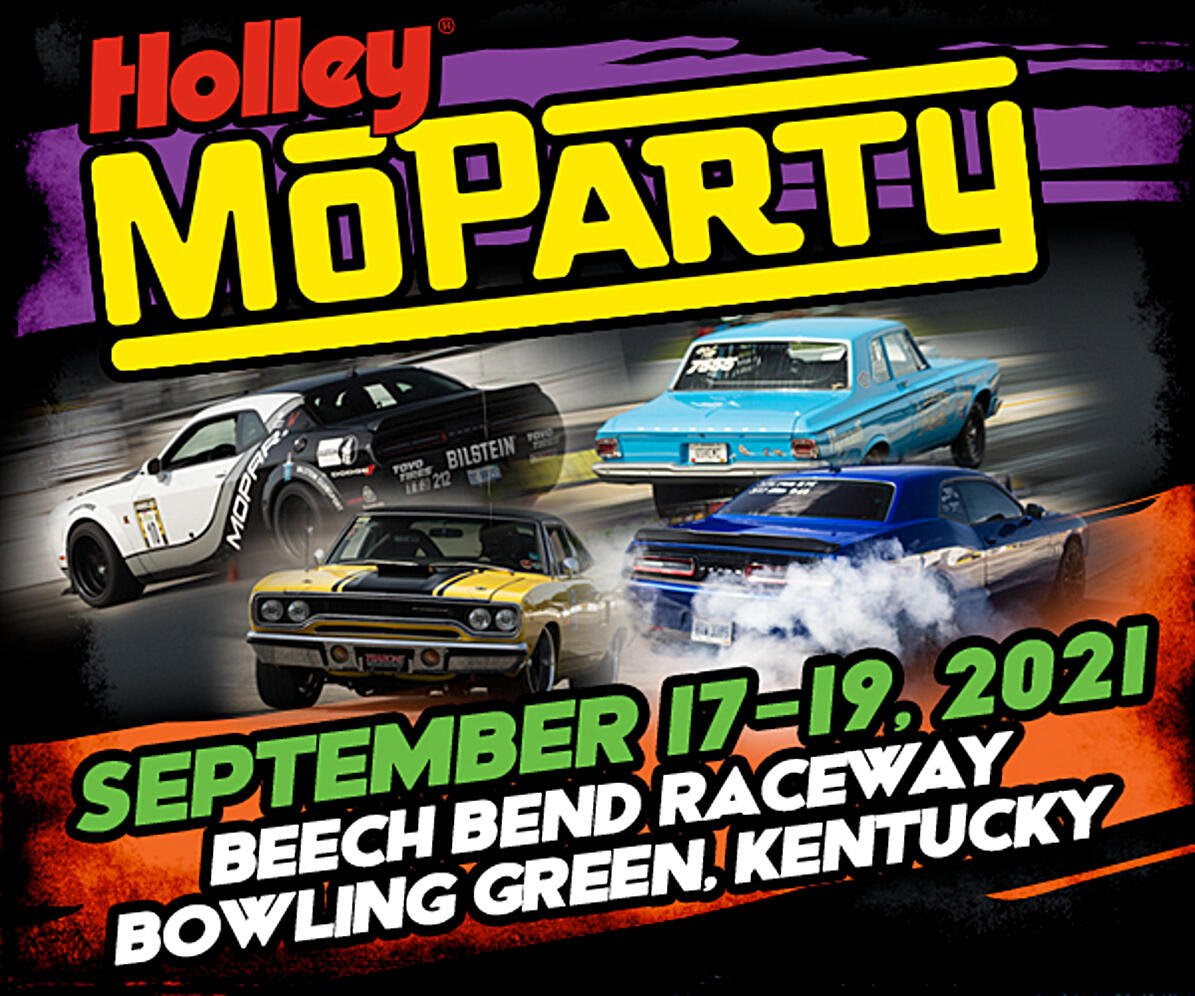 Holley Moparty 2021 Registration Is Now Open! Join Us In Bowling Green For The Festivities!