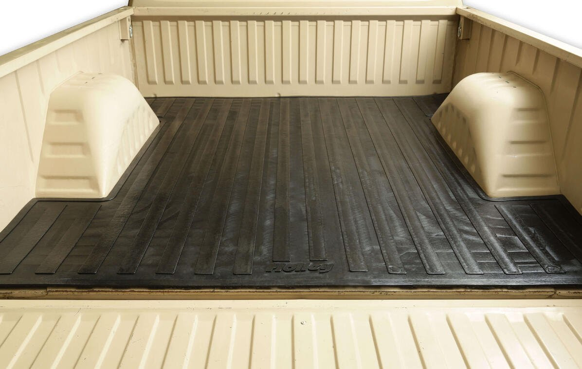 Use Your Truck As A Truck! Holley Classic Trucks Heavy Duty Bed Mats For GM C10 and Dodge D100 Short Bed Trucks