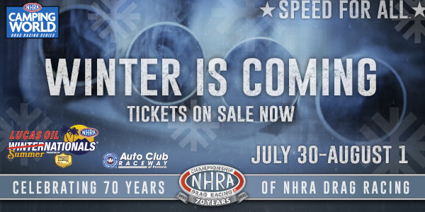 The NHRA Winternationals Are Actually Happening In California!!! THE WINTERNATIONALS ARE TAKING OVER SUMMER WITH RACING UNDER THE LIGHTS IN POMONA!