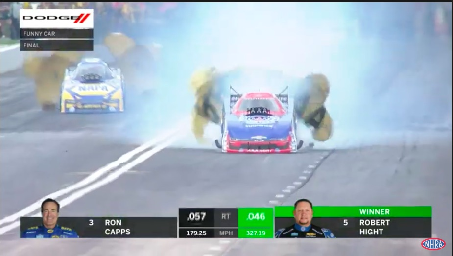 Hight, Hartford, and Torrence Claim Victory At Rain Soaked 2021 NHRA SpringNationals – Watch All Three Final Rounds Here