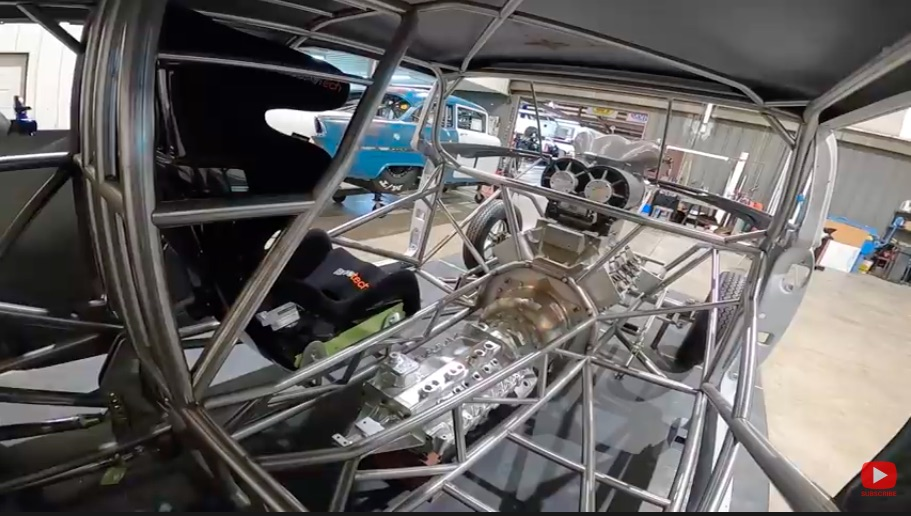 Sickness: Tom Bailey's New Screw Blown, Nitro-Powered, 1955 Chevy Nomad Is Completely Bonkers