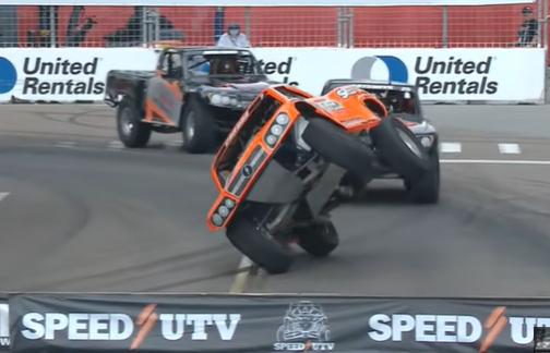 Stadium SUPER Trucks Live Stream Replay From The 2021 St. Petersburg Race