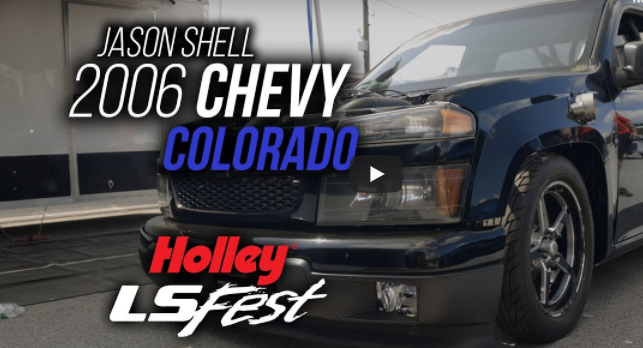 This Ultra Clean Twin Turbo Chevrolet Colorado Has A 25.3 Chassis, Invaded LSFest, And Is Destined For Drag Week