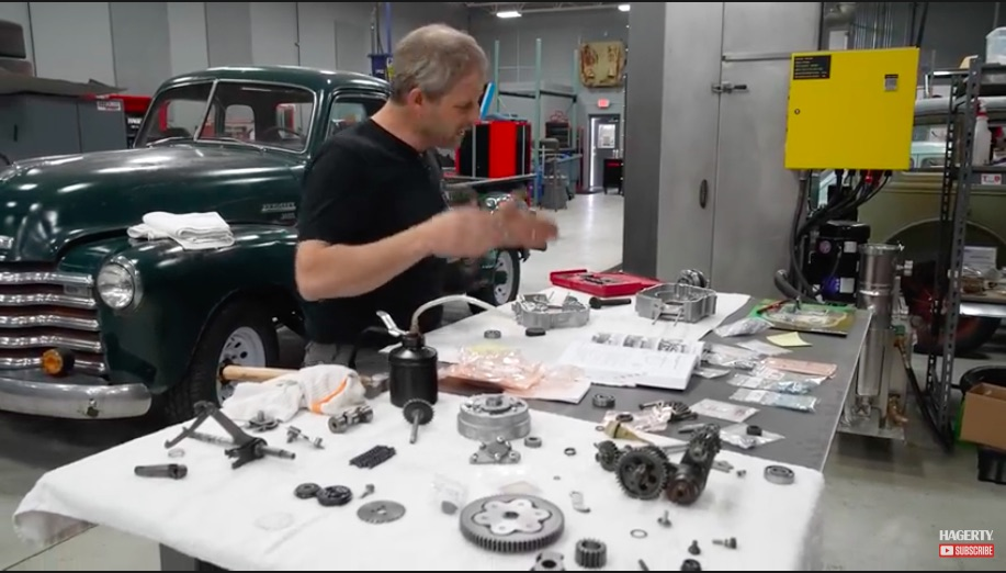 Reassembly Video: Check Out This Little Honda Trail 70 Engine Assembly – Cool Little Engine!