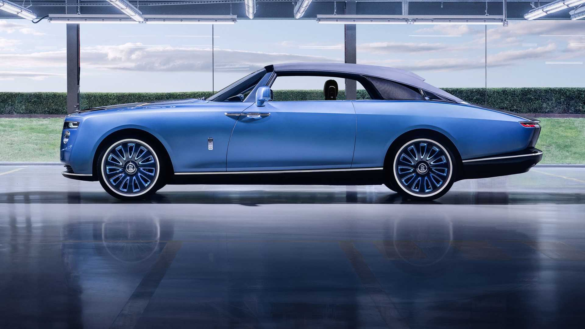 Land Yacht: The Rolls-Royce Boattail Is A One Off Exercise In Luxury And Styling
