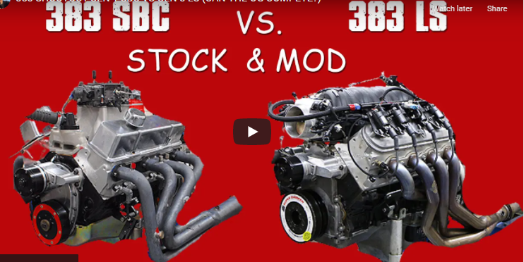 Small Block VS LS: Which 383 Reigns Supreme, Mild And Modded