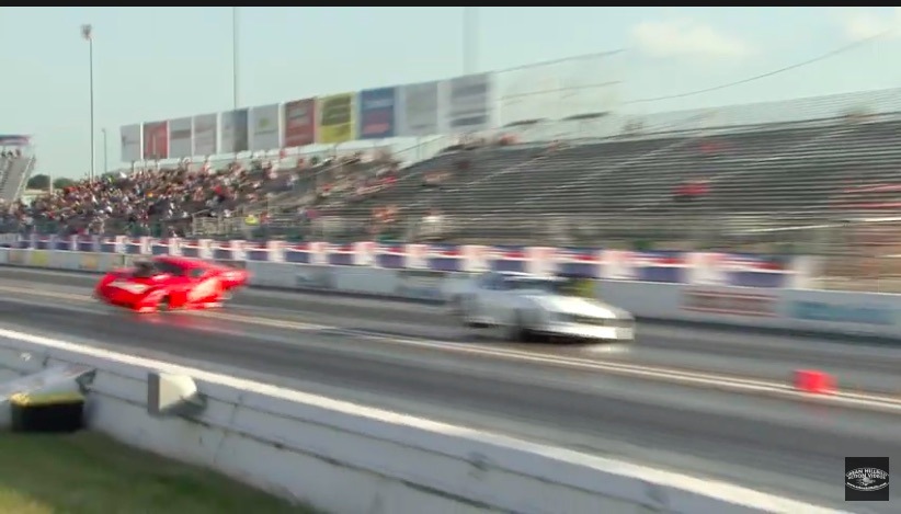 Wild Video: Watch Randy Merick And Jim Phillips Tangle At The 2021 ADRL Gateway Drags