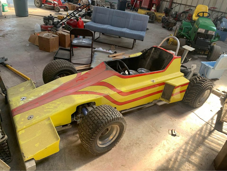 It's Not A Malibu Grand Prix Car, But It's Still Adult Go Kart Fun For Cheap. We Want This!