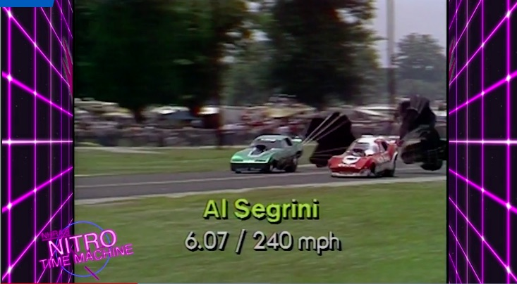 Nitro Time Machine: Watch Al Segrini Take On All Comers In The Super Brut Funny Car At The 1983 NHRA Cajun Nationals!