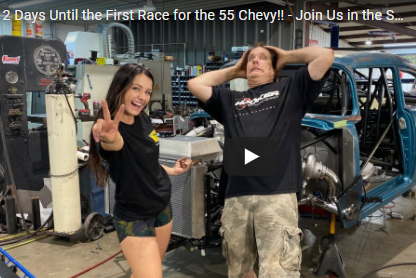 Alex Taylor's Quest For The 6's 1955 Chevy Build Updates! Two Days Until Racing Starts!