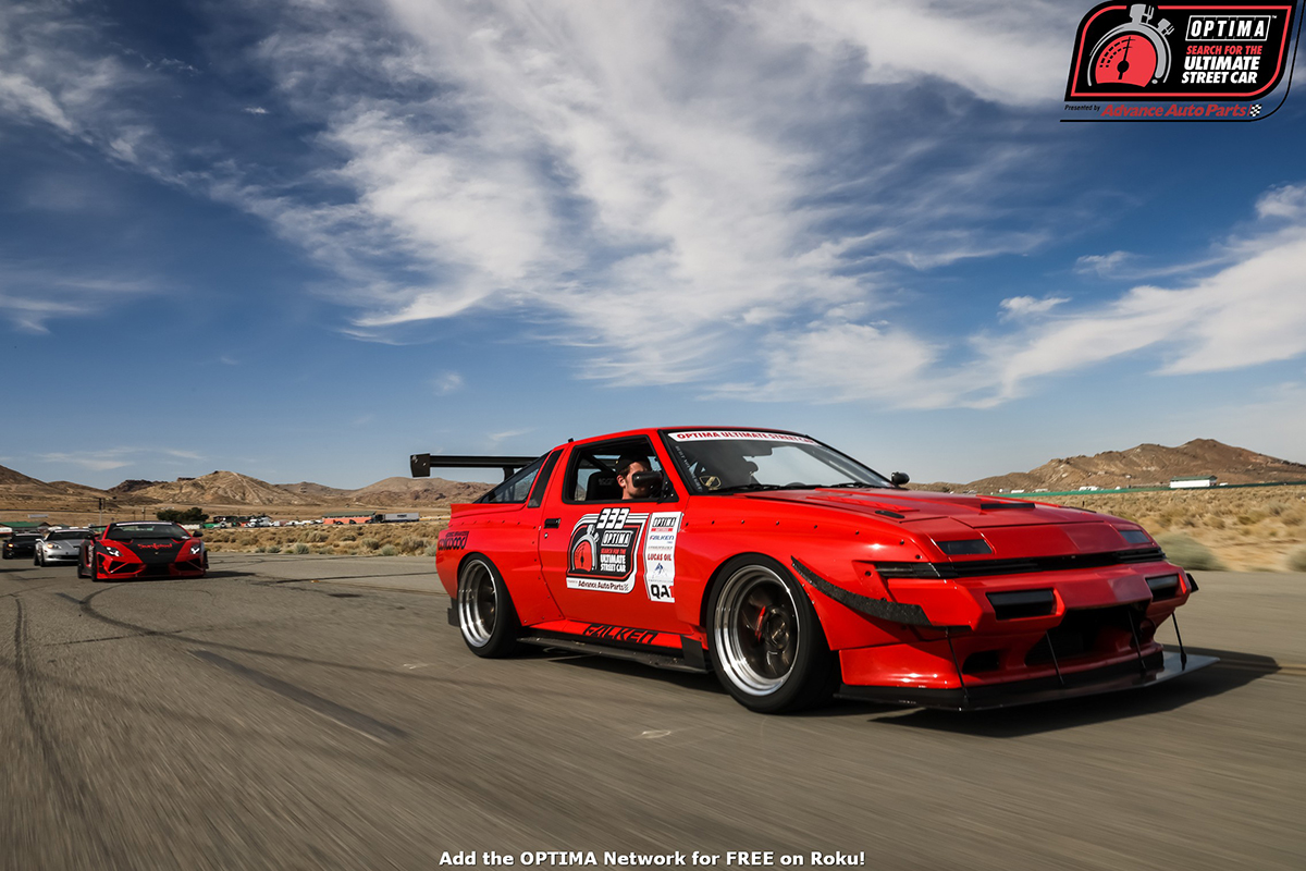 Race Photos: OPTIMA's Search For The Ultimate Street Car Heads To The Fastest Track In The West