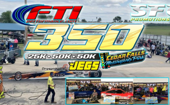 FREE LIVESTREAM: It's About Time! SFG Brings Big Money Bracket Racing To The Upper Mid-West In A Big Way