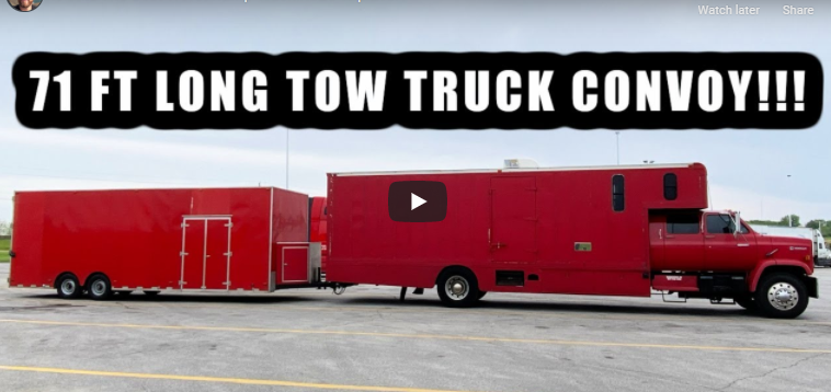 Size Matters: When The World's Largest Enclosed Ramp Truck Isn't Enough, You Add A Big Trailer.