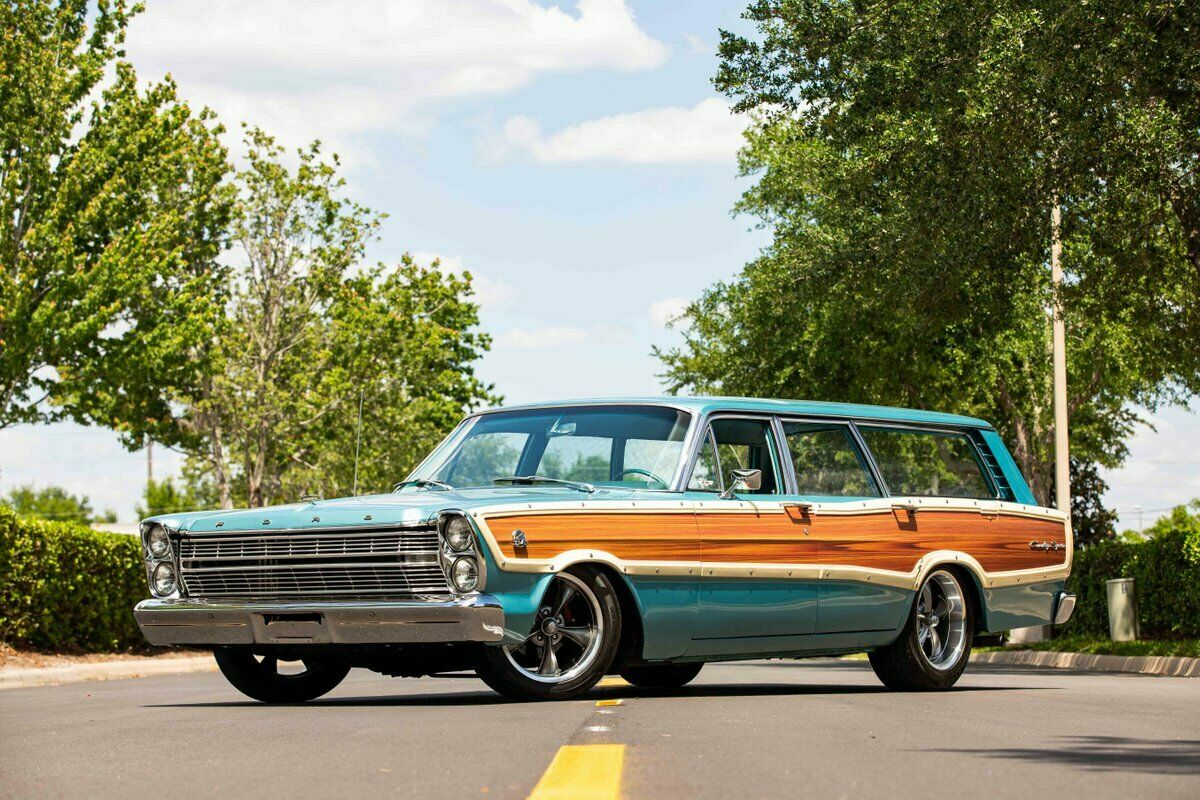 eBay Find: This 1966 Ford Country Squire Wagon Is A Perfect Summertime Cruiser