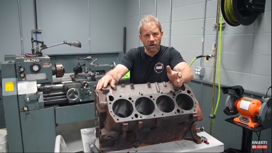 Bake Job: Watch This 440 Block Come Of Of The Cleaning Process Looking Brand New!